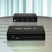 LJ-3251- Chaveador HDMI 5 in x 1 out